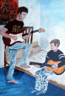Musical Brothers by Marjorie Robinson