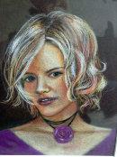 Purple in Pastel (Pastel) by Joyce Hope