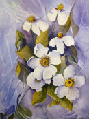 Flowers (watercolour) by Rosie Muncaster