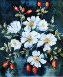 Wild Rose (watercolour) by Sheila Linkleter