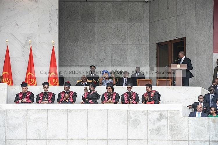 João Lourenço 2017 Presidential Inauguration