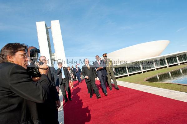 JES after visit to brazilian Senate.