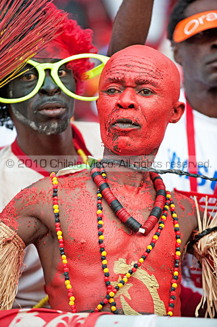 Angolan supporters