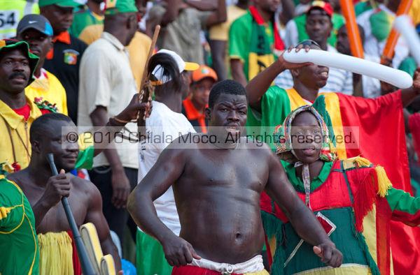 Malian supporters