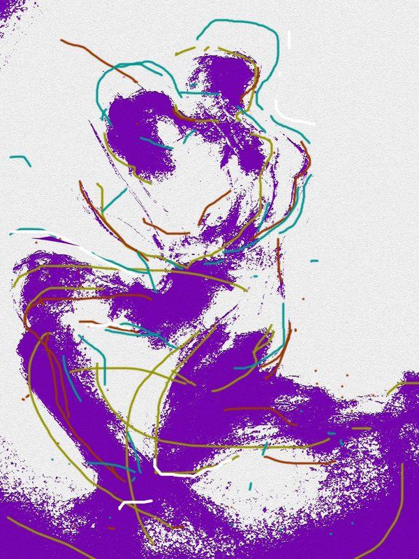 PURPLE HAZE (digitally enhanced)