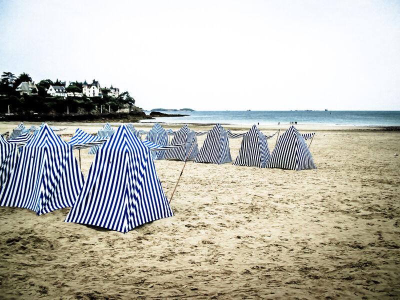 Dinard beach tent