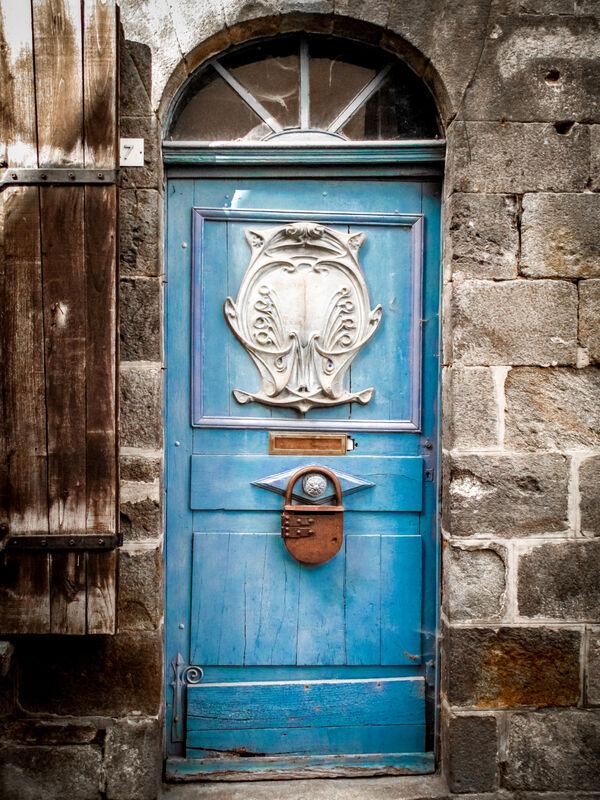 Door at Dinan, Brittany