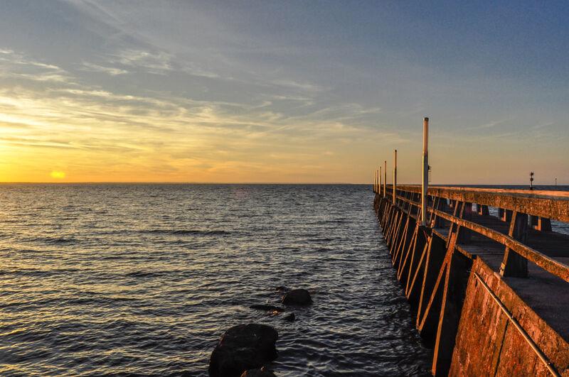 Grandcamp Maisy Harbour's Bridge(reviewed version)