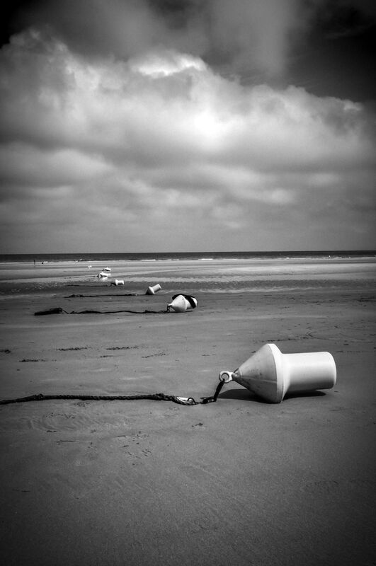Omaha Beach, after the storm