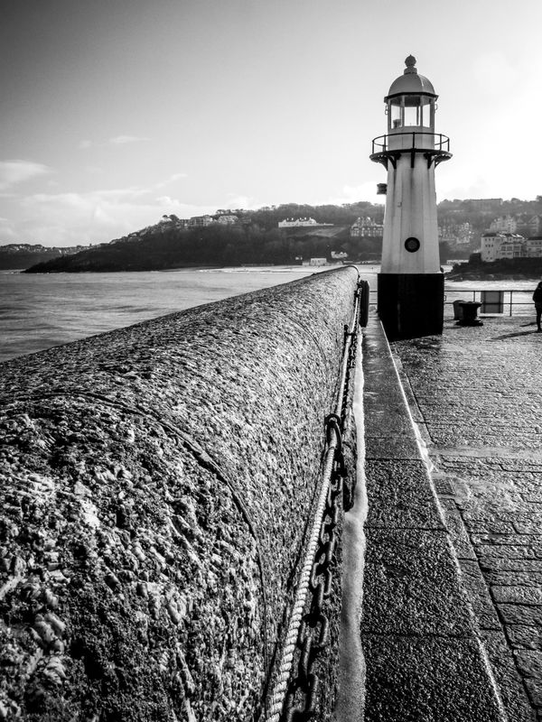 Saint Ives's Lighthouse, Cornwall