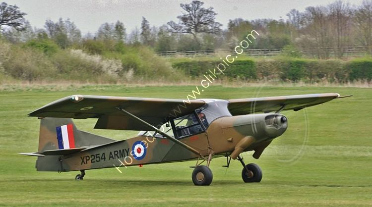 BE3-4 Beagle E3 Mk II British Army Colours Private Ownership XP254-G-ASCC Old Warden Airfield Bedfordshire GB 2012  (C) All Copyrights Reserved RLT-Aviation And Maritime Images 2021 opt opt