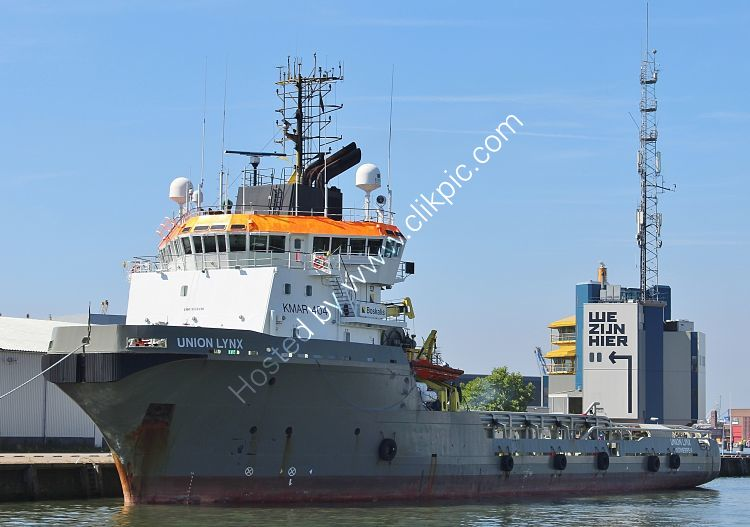 OSV-2 Union Lynx Offshore Support Vessel Port Of Rotterdam Rotterdam Holland 2017 (C)RLT Aviation And Maritime Images 2018 opt