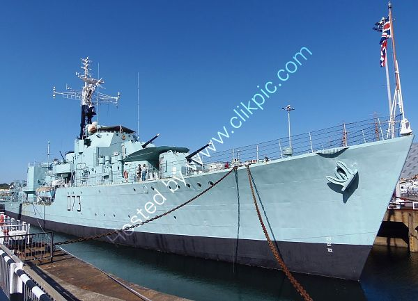 PMS-23 HMS Cavalier D73 Preserved C Class Destroyer From World War 2 Ack-Chatham Historic Dockyard Kent Gt Britain 2020 (C)RLT Aviation And Maritime Images 2020 opt