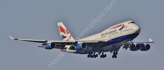 REF B744-24 B747-436 G-BNLZ British Airways London Heathrow Apt Gt Britain 2010 (C)RLT Aviation And Maritime Images 2018