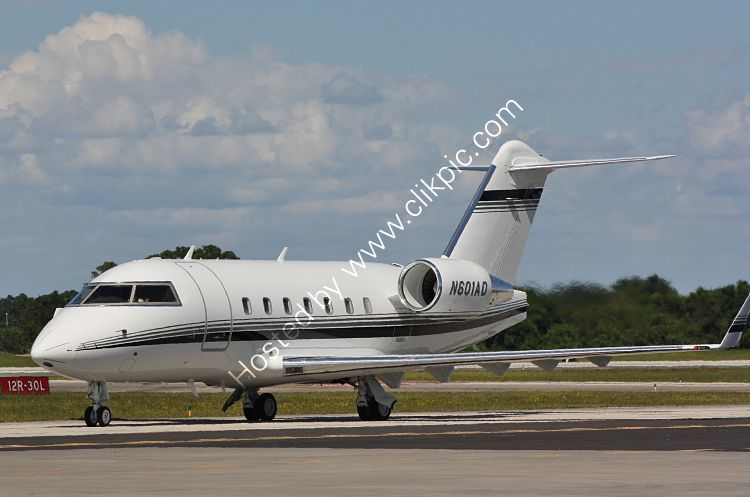 Ref BCH7 Bombardier B100 Challenger 601 N601AD Vero Beach Airport Florida USA 2015 (C)RLT Aviation And Maritime Images 2018 opt