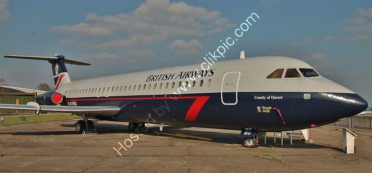 Ref-111-7 BAC111-510ED G-AVMU Ex BA Ack-DAS/IWM Duxford Aerodrome Cambridgeshire GB 2017 (C)Copyrights Reserved - RLT-Aviation And Maritime Images 2021 opt