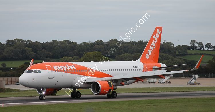 Ref A320-232 Airbus A320-214 EasyJet G-EZGZ Bristol Airport Somerset Gt Britain 2018 (C)RLT Aviation And Maritime Images 2018 opt
