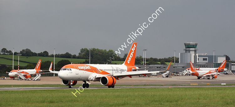 Ref-A320-293 Airbus A320-251N G-UZHF EasyJet Bristol Airport Somerset Gt Britain 2020 (C)RLT Aviation And Maritime Images 2020 opt