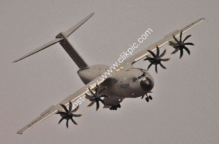 Ref-A400-44 Airbus A400M-Airbus Pre-Production Aircraft EC406 RAF Fairford Gloucestershire Gt Britain 2015 (C)Copyrights Reserved - RLT-Aviation And Maritime Images 2021