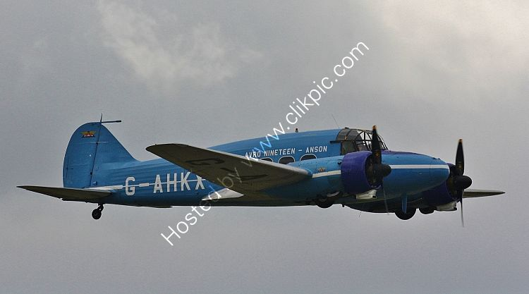 Ref-AAN7 Avro Srs-19 Anson Mk2 G-AHKX BAE Systems Plc RNAS Yeovilton Somerset Gt Britain 2019 (C)Copyrights Reserved - RLT-Aviation And Maritime Images 2021