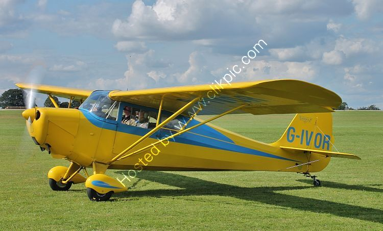 Ref-AER-42 Aeronca 11AC Chief G-IVOR Sywell Aerodrome Northamptonshire Gt Britain 2017 (C)Copyrights Reserved - RLT Aviation And Maritime Images 2021