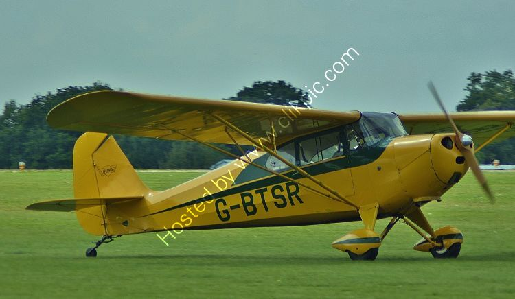 Ref-AER32 Aeronca 11AC Chief G-BTSR Sywell Aerodrome Northamptonshire Gt Britain 2017 (C)Copyrights Reserved - RLT Aviation And Maritime Images 2021 opt