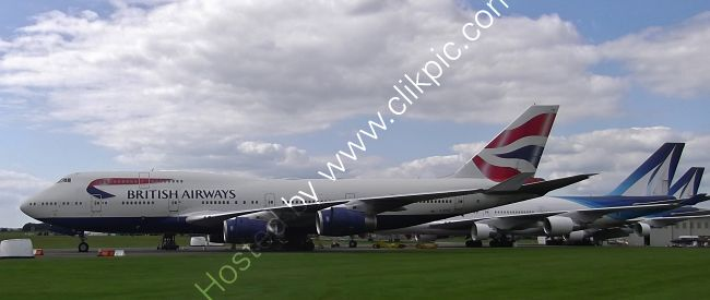 Ref-ASC-169 Boeing 747-436 Ex-British Airways G-BYGF To Be Parted Out Cotswolds Airport (Kemble) Gloucestershire GB 2020 (C)RLT Aviation And Maritime Images 2020