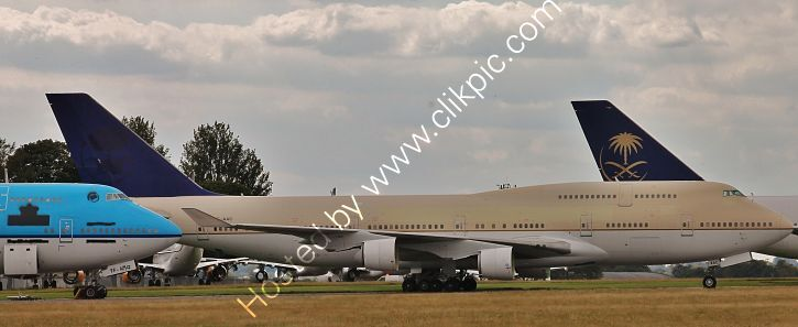 Ref-ASC-204 Boeing 747 481 Operated By Royal Saudia Airlines TF-AAC For Parting Out Cotswolds Airport Gloucestershire GB 2020 (C)RLT Aviation And Maritime Images 2020