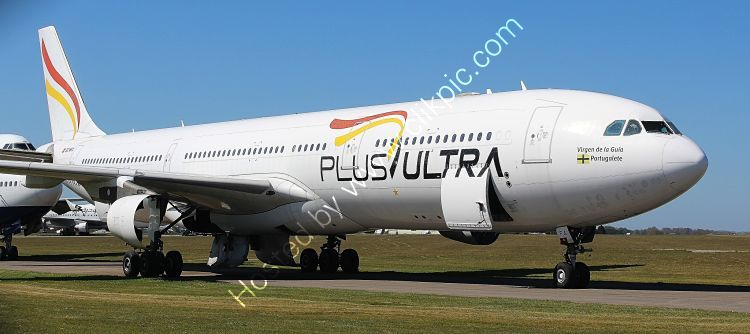 Ref-ASC-211 Airbus A330-313 212 Ex-Plus Ultra EC-MFA Parting Out Cotswold(Kemble) Airport Gloucestershire GB-2021 (C)Copyrights Reserved RLT-Aviation And Maritime Images 2021 opt