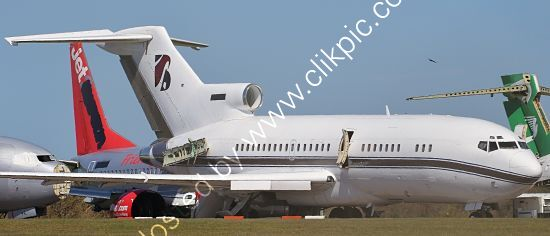 Ref-ASC-221 Boeing 727-76RE 19254 2-MTT Ex-Business Jet Being Parted Out Cotswold(Kemble) Airport Gloucestershire GB 2021 (C)Copyrights Reserved RLT-Aviation And Maritime Images 2021 opt