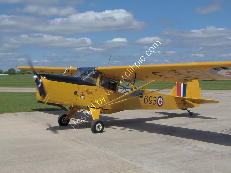 Ref-AUS6 Auster J1N Alpha RCAF Colours Private Owner G-BLPG Sywell Aerodrome Northamptonshire Gt Britain 2013 (C) All Copyrights Reserved 2021 RLT Aviation And Maritime Images.