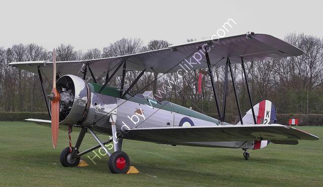 Ref-AVT1 Avro Tutor K3241 - G-AHSA Shuttleworth Trust Old Warden Bedfordshire Gt Britain 2013 (C)Copyrights Reserved - RLT Aviation And Maritime Images 2021