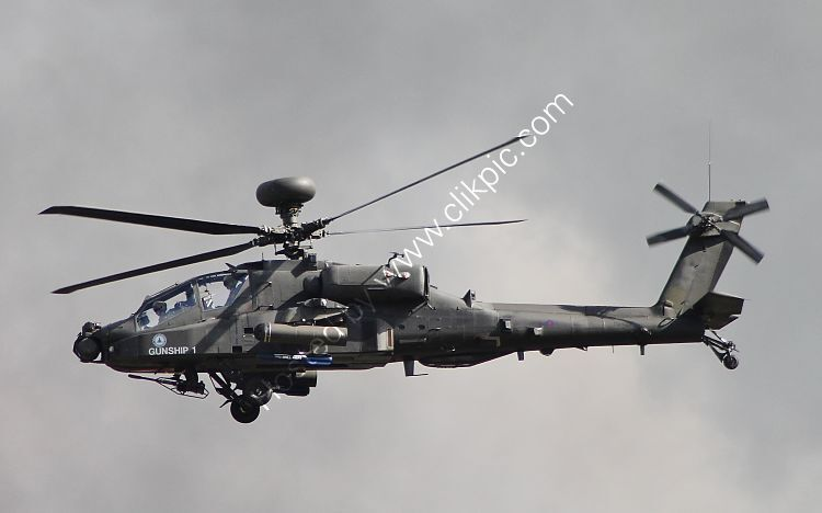 Ref-AWA27 Augusta Westland AH64 Apache AH1 British Army Air Corp ID Unkown RAF Brize Norton Oxfordshire Great Britain 2013 Copyrights Reserved - RLT-Aviation And Maritime Images 2021 opt