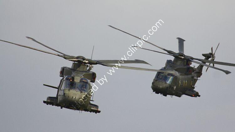 Ref-AWM179 Augusta Westland EH101 Merlin HC3 ZJ123 Royal Air Force RNAS Yeovilton Somerset Gt Britain 2015 (C)RLT Aviation And Maritime Images-2018 opt