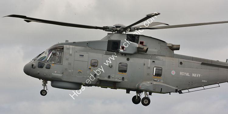 Ref-AWM70 August Westland EH101 Merlin HM1 ZH854 Royal Navy RNAS Culdrose Cornwall Gt Britain 2013 (C)RLT Aviation And Maritime Images-2018