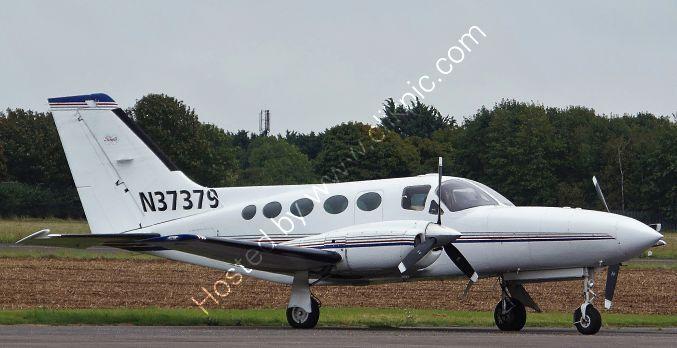 Ref-C421-12 Cessna 421 Golden Eagle Private Owner N37379 Wellsbourne Mountford Aerodrome Warwickshire Gt Britain 2017 (C) All Copyrights Reserved 2021 RLT Aviation And Maritime Images opt