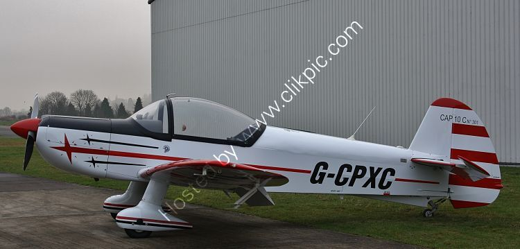 Ref-CAP2 CAP10 Private Owner G-CPXC Staverton Aerodrome Gloucestershire Gt Britain 2013 (C)Copyrights Reserved - RLT-Aviation And Maritime Images 2021 opt