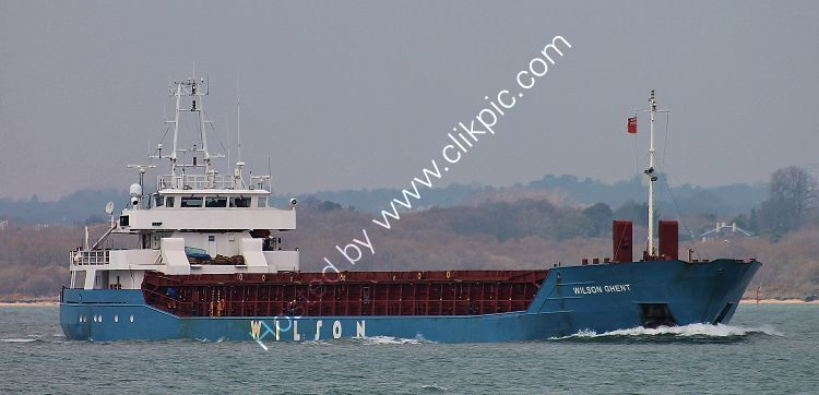Ref-CSSC-299 Wilson Ghent General  Cargo  Ship Short Sea Trader Southampton Water Hampshire GB 2021 Copyright Reserved 2021-RLT Aviation And Maritime Images  opt
