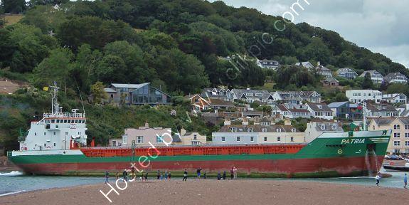 Ref-CSSC284 Patria Short Sea Trader Entering Teignmouth Docks Devon Gt Britain 2020 (C)RLT Aviation And Maritime Images 2020 opt