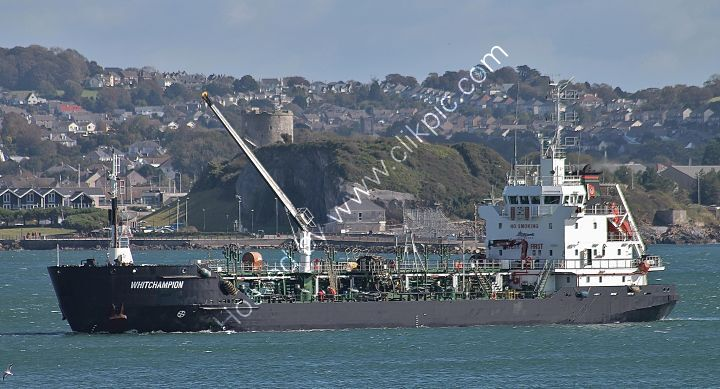 Ref-CSST208 Whitchampion Tanker Plymouth Sound Plymouth Devon 2020 RLT Aviation And Maritime Images 2020 opt