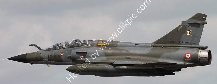 Ref-D2000-1 Dassault Mirage 2000N 353-125AM Armee De L'Air (French Air Force) RAF Fairford Gloucestershire Gt Britain 2015 (C)RLT Aviation And Maritime Images 2018 opt