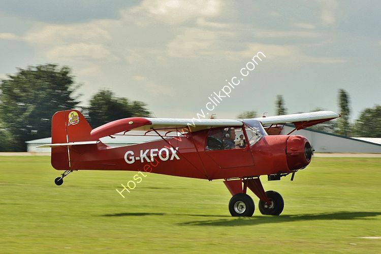 Ref-DEN3 Deny Kitfox Private Owner G-KFOX Sywell Aerodrome Northamptonshire Gt Britain 2017 (C) All Copyrights Reserved 2021 RLT Aviation And Maritime Images opt