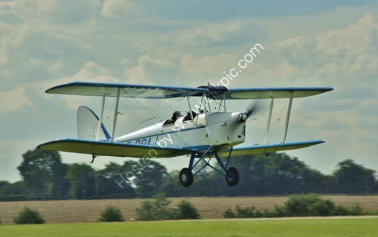 Ref-DH82-27 De Havilland DH82 Tiger Moth G-BPAJ Sywell Aerodrome Northamptonshire Gt Britain 2017 (C)RLT Aviation And Maritime Images 2018 opt