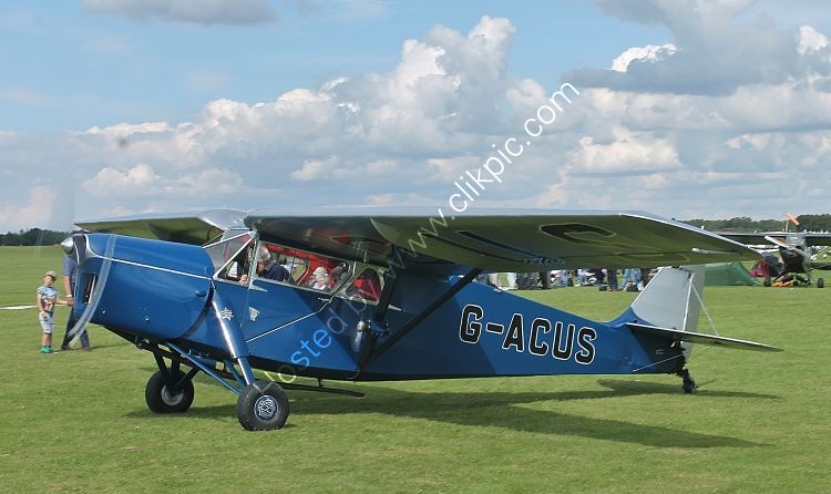 Ref-DH85-3 De Havilland DH85 Leopard Moth G-ACUS Sywell Aerodrome Northamptonshire Gt Britain 2017 (C)RLT Aviation And Maritime Images 2018 opt