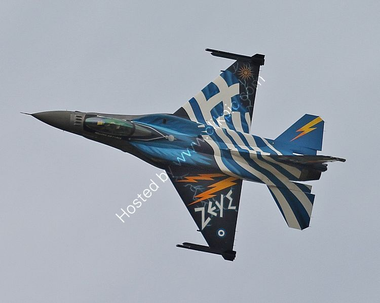 Ref-F16-68 General Dynamics F16C Fighting Falcon Hellenic Air Force (Greece)  99-1523 RAF Fairford Gloucestershire GB 2015 (C)RLT Aviation And Maritime Images 2018 opt