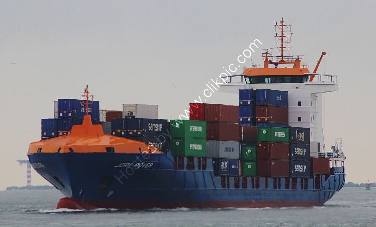 Ref-FCT112 Jork Rover Container Feeder Ship New Waterway Rotterdam Holland 2015 (C)RLT Aviation And Maritime Images 2018 opt