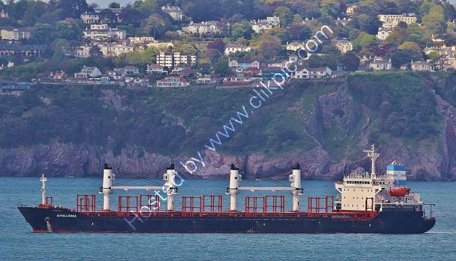 Ref-GC0(G)14 Apollonia Geared Cargo & Container Ship Torbay Devon Gt Britain 2014 (C)RLT Aviation And Maritime Images 2020 opt