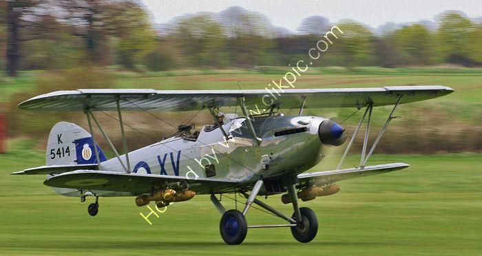 Ref HHD-4 Hawker Hind RAF-Shuttleworth Trust K5414 G-AENP Old Warden Aerodrome Bedfordshire Gt Britain 2013 (C)RLT Aviation And Maritime Images 2018 opt
