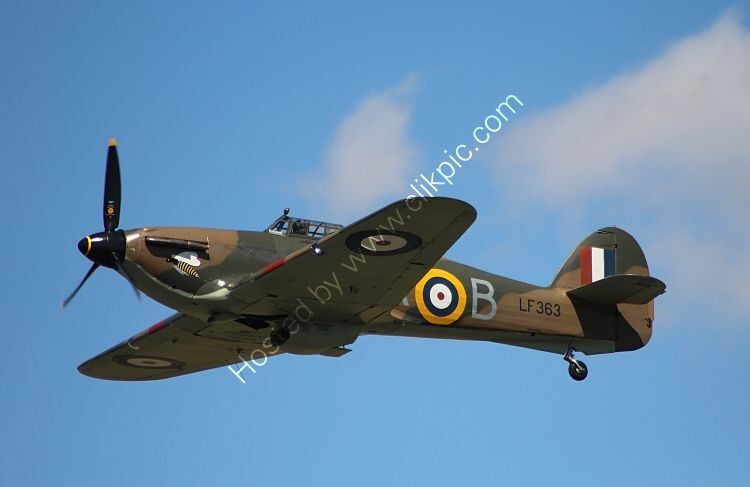 Ref-HHR34 Hawker Hurricane IIC RAF-Battle Of Britain Memorial Flight LF 363 Duxford Aerodrome Cambridgeshire Gt Britain 2012 (C) All Rights RLT Aviation And Maritime Images opt