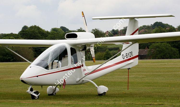 Ref-III-1 III  Sky  Arrow 650 TC G-BYZR RAF Cosford Shropshire Gt Britain 2012 (C)RLT Aviation And Maritime Images 2018 opt